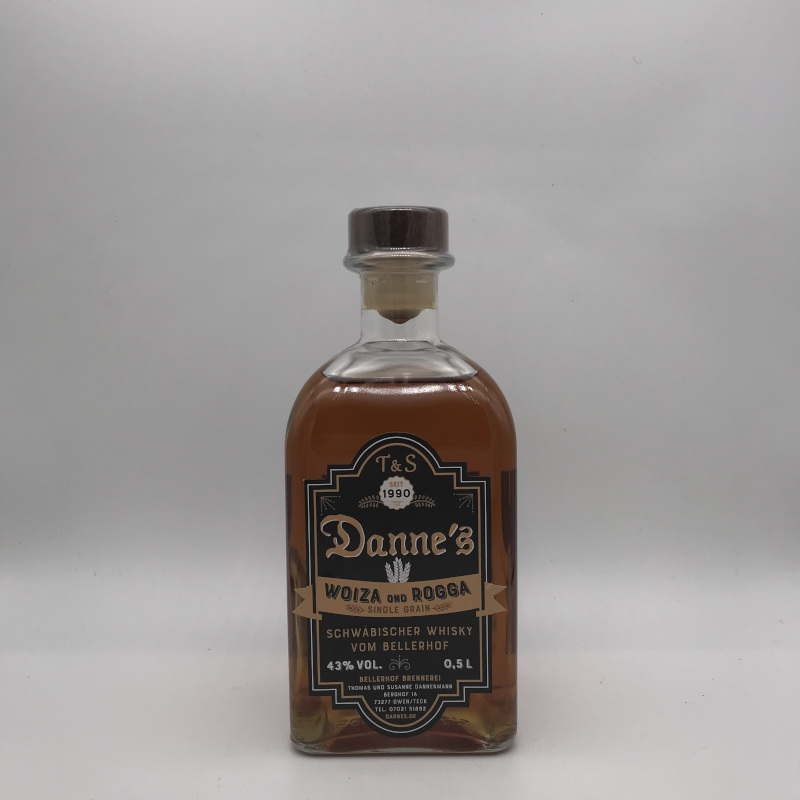 Danne's - Single Grain - Woiza ond Rogga 43% vol.