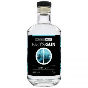Artikelbild Bro's Gun Dry Gin 0,5l