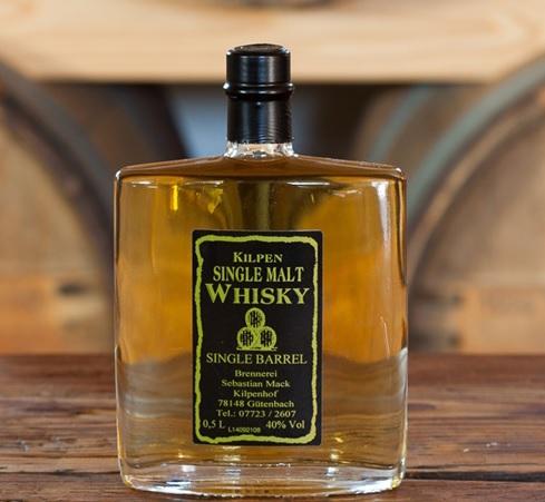 Kilpen Single Malt Whisky 40% vol., 0,5ltr.