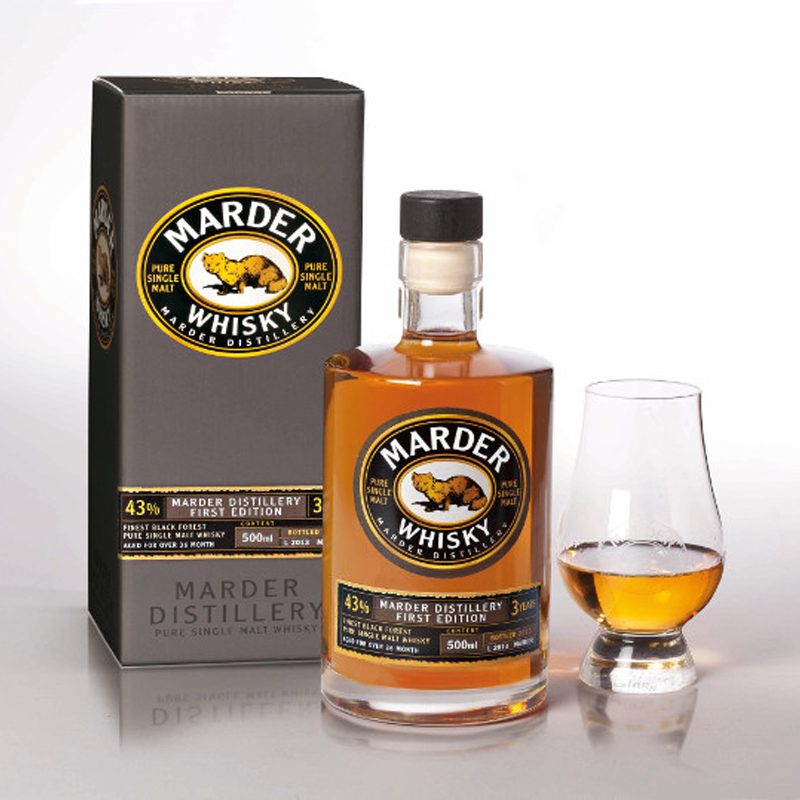 Marder - Single Malt Whisky - 43% vol.