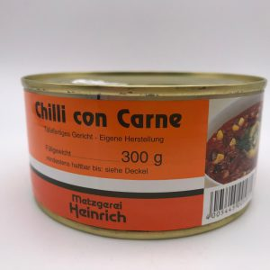 Chili con Carne in der Dose