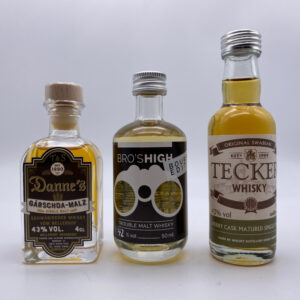 Miniaturen-Set 3er Single Malt