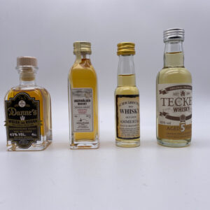 Miniaturen-Set 4er Single Grain Whiskys