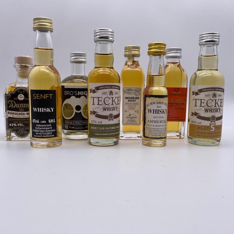 Miniaturen-SET Schwäbischer Whisky 8er