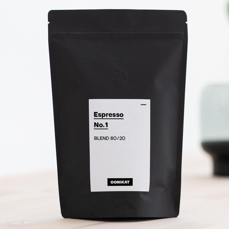 Espresso No.1 80/20 Premium Blend von OONIKAT - 250g