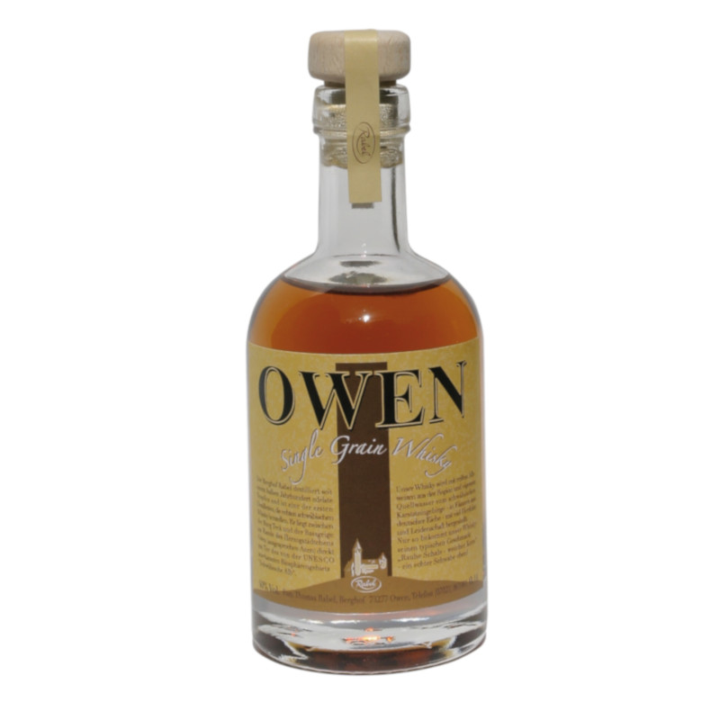 OWEN Single Grain, 40% vol. - 0,1ltr.