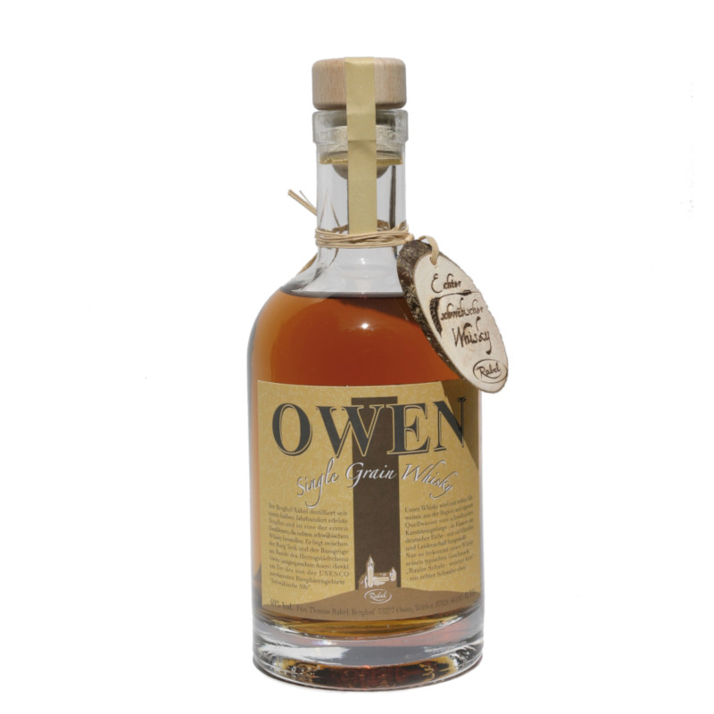 OWEN Single Grain, 40% vol. - 0,35ltr.