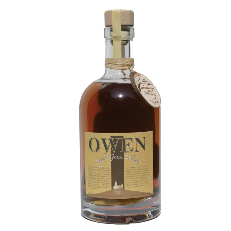 OWEN Single Grain, 40% vol. - 0,7 ltr.