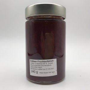 Rabel-Erdbeermarmelade-Zutaten