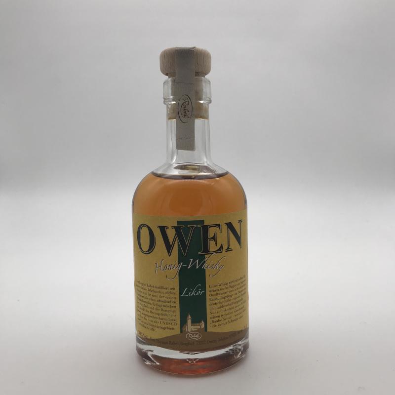 OWEN Honig-Whisky - Whiskylikör, 30% vol. - 0,1ltr.