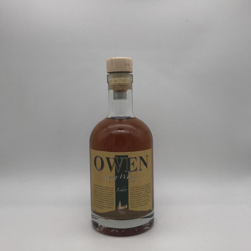 OWEN Honig-Whisky, Whiskylikör, 30% vol. 0,35l.