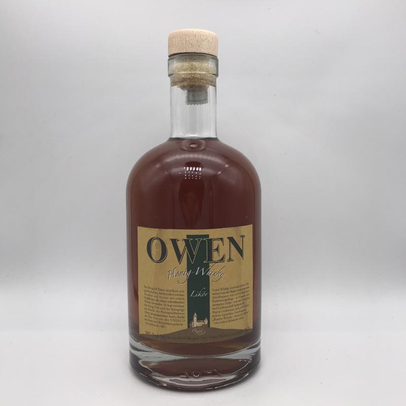 OWEN Honig-Whisky, Whiskylikör, 30% vol.