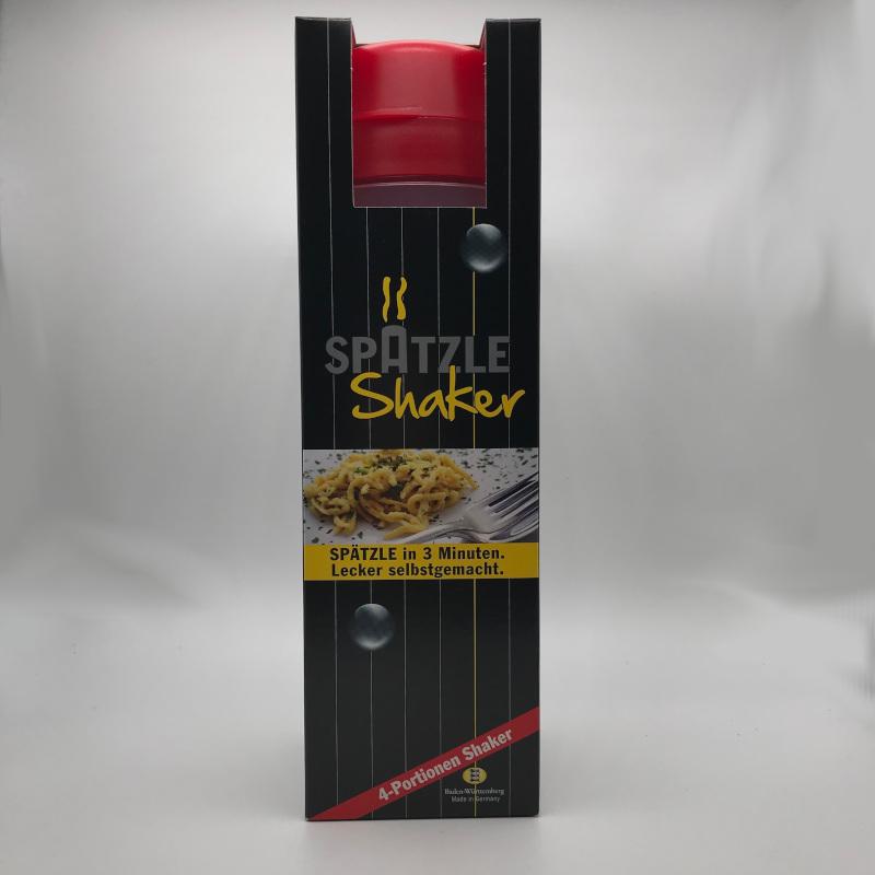 Spätzle Shaker- für 4 Portionen