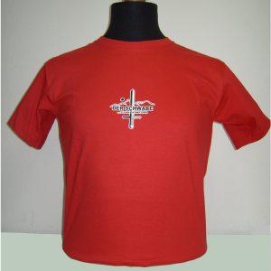 T-Shirt-DER-SCHWABE-rot-front