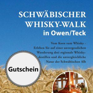 Gutschein für den Schwäbischer Whisky-Walk in Owen/Teck