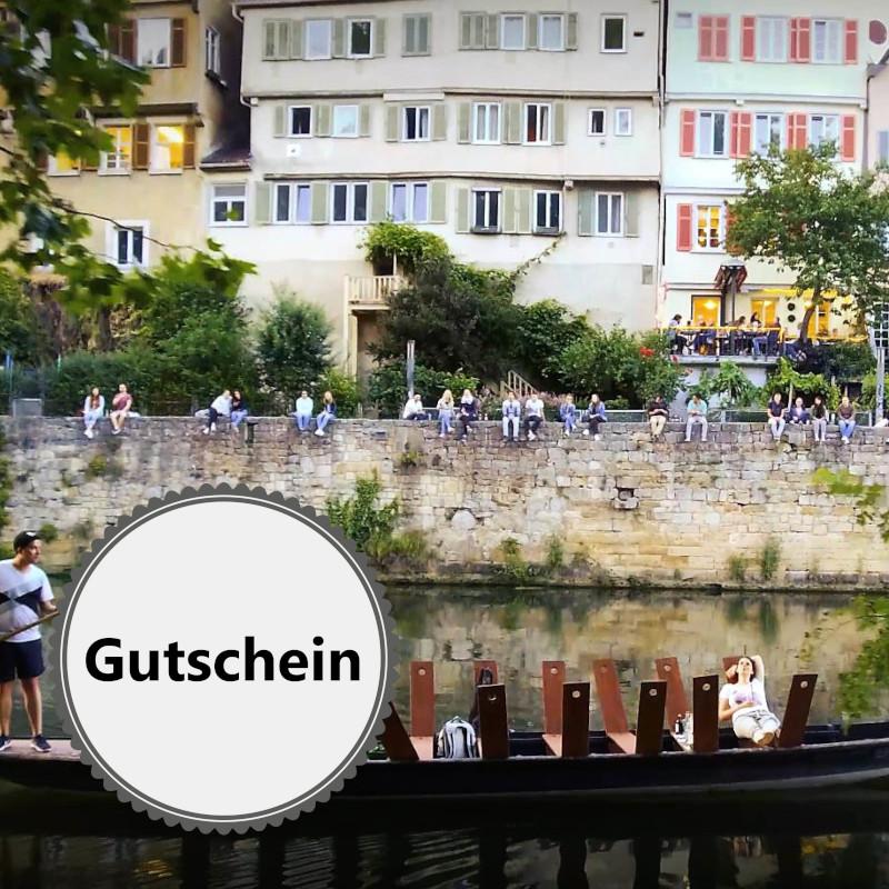 GUTSCHEIN ohne Termin - Gin Tasting mit Stocherkahn-Fahrt