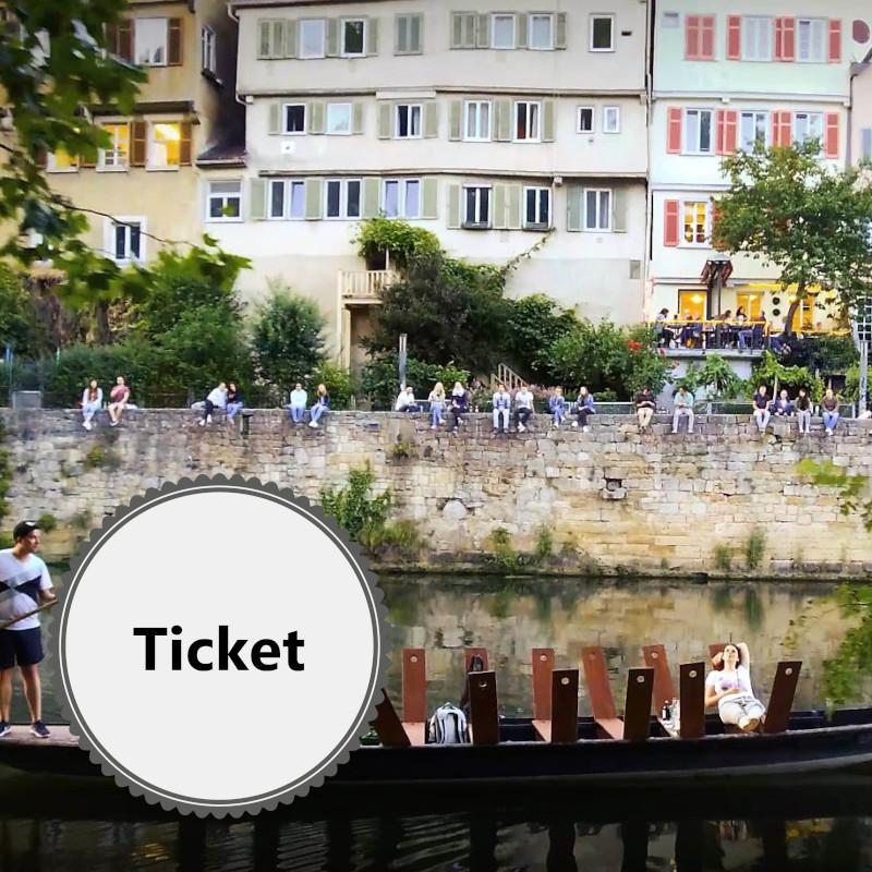 Ticket - GIN Tasting mit Stocherkahn-Fahrt - 19.09.2020 - Ausgebucht