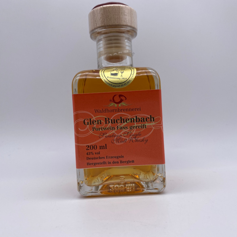 Glen Buchenbach Port - Single Malt Whisky, 43% vol. 0,2ltr.
