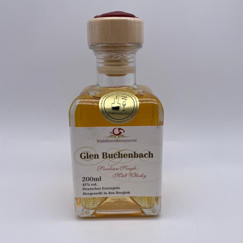 Glen Buchenbach - mild rauchig, Single Malt 43% vol. 0,2l