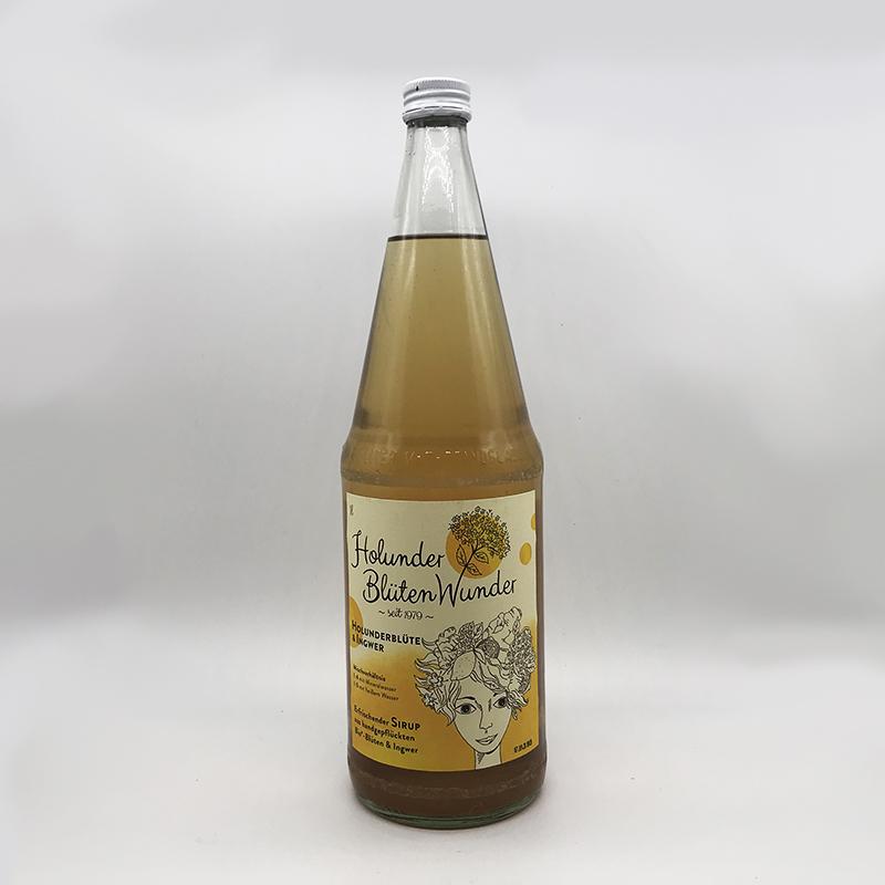 Ingwer Holunderblütenwunder 1 Liter - inkls. 15 Cent PFAND