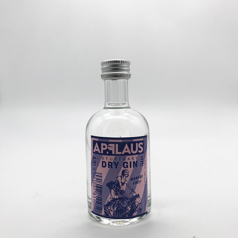 Applaus Stuttgart Dry Gin 43% vol., 0,05 ltr.