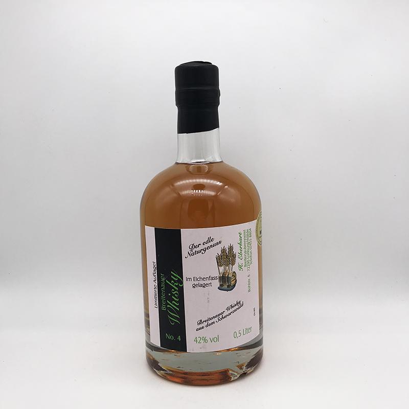 Breitenauer Whisky aus dem Schwarzwald - Nr. 4 - 42% Vol.
