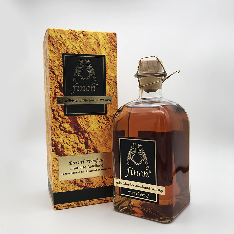 Finch® - Barrel Proof, 54% vol. 0,5 ltr.