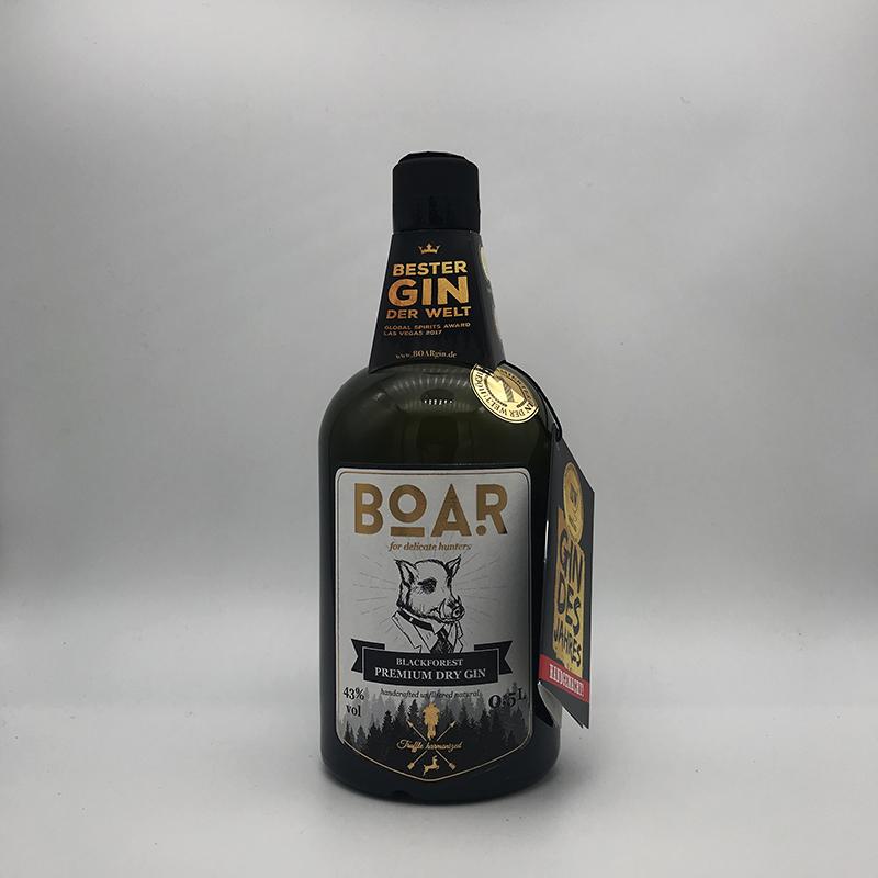 BOAR - Black Forest Dry Gin - Truffle harmonized - 43% vol.