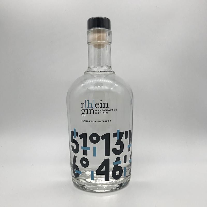 r[h]ein gin Handcrafted Dry Gin 46% vol.