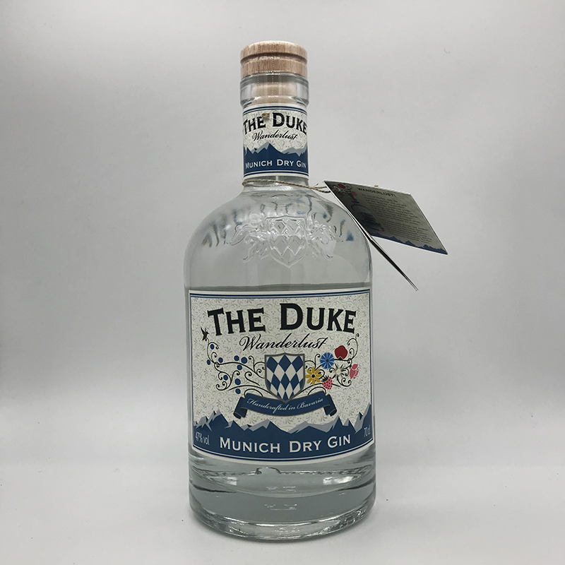 THE DUKE Wanderlust Gin 47% vol., 0,7 ltr.
