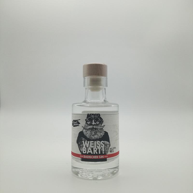 WEISSBART ! Gin- 41% vol. 0,1 ltr.