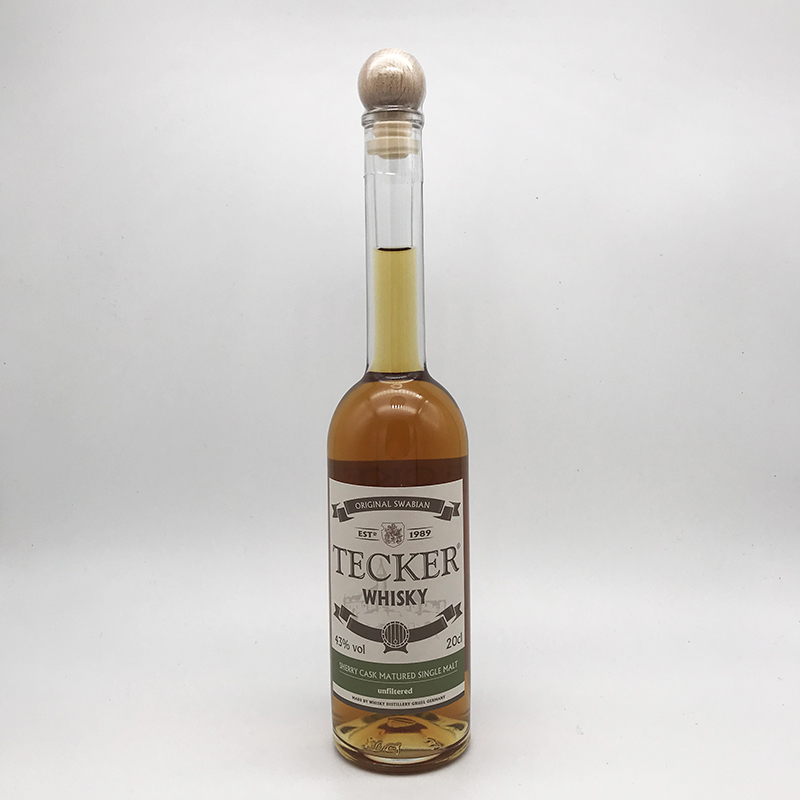 TECKER - Sherry Cask Single Malt, 43% vol. -0,2ltr.