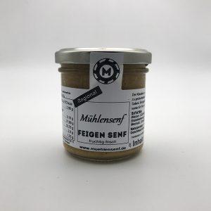 Mühlensenf - Feigen Senf, 130ml/ 140g
