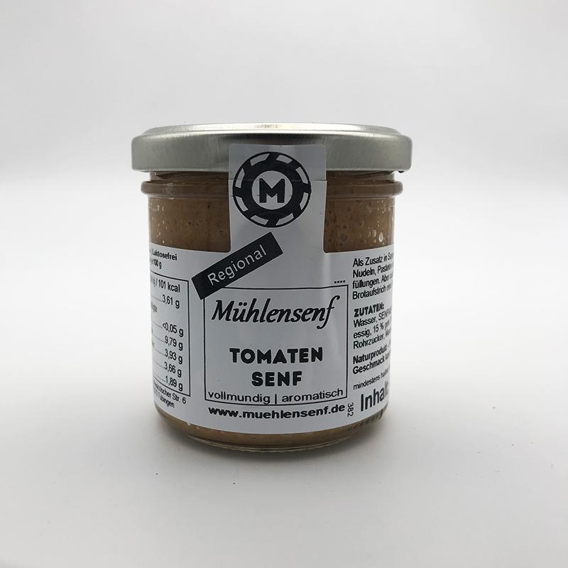 Mühlensenf - Tomaten Senf, 130ml/ 140g