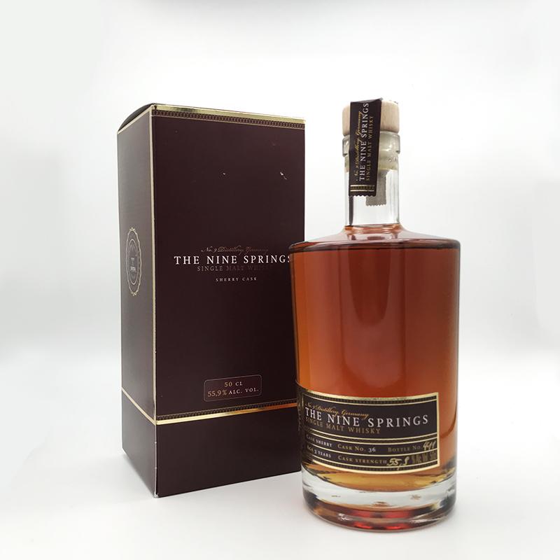 The Nine Springs Sherry Cask 55,9% vol., 0,5ltr.