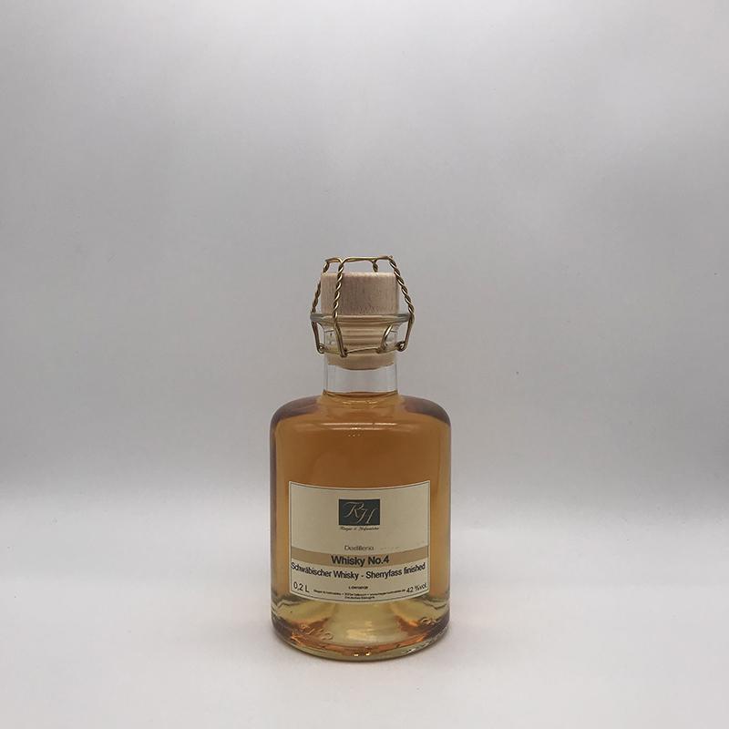 Rieger und Hofmeister Whisky No.4 - 42% Vol., 0,2ltr.