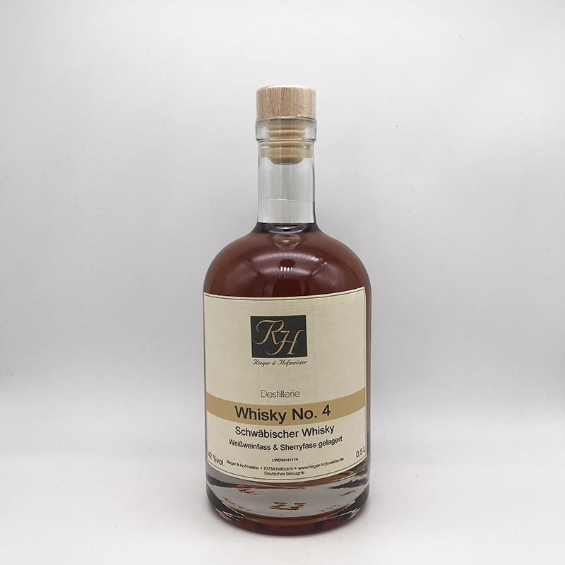 Rieger und Hofmeister Whisky No.4, 42% vol.
