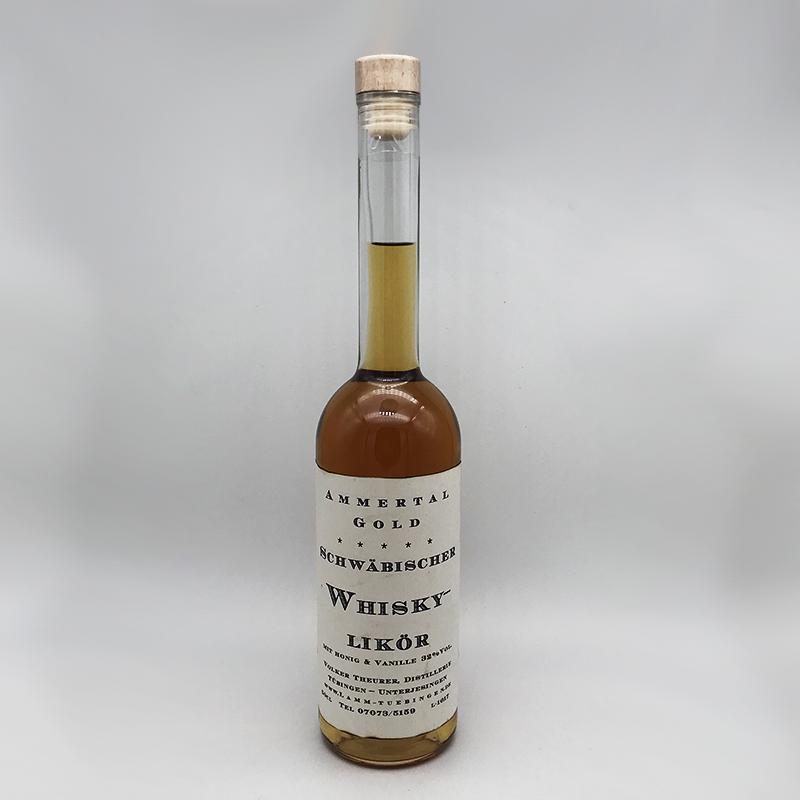 Ammertal Gold - Schwäbischer Whisky- Likör, 32% vol. 0,5ltr.