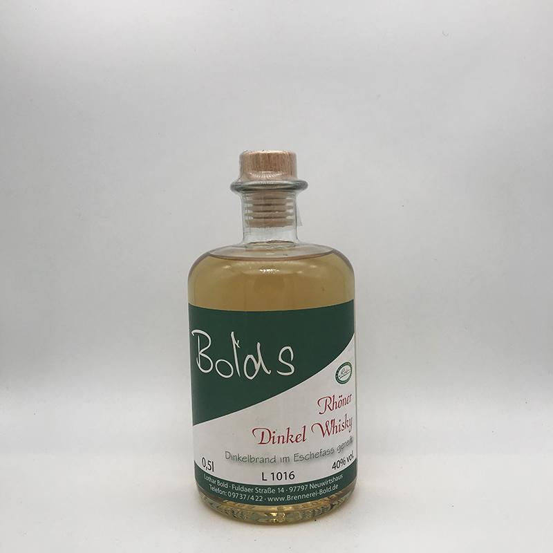 Bold's Rhöner Dinkel Whisky, 40% vol.