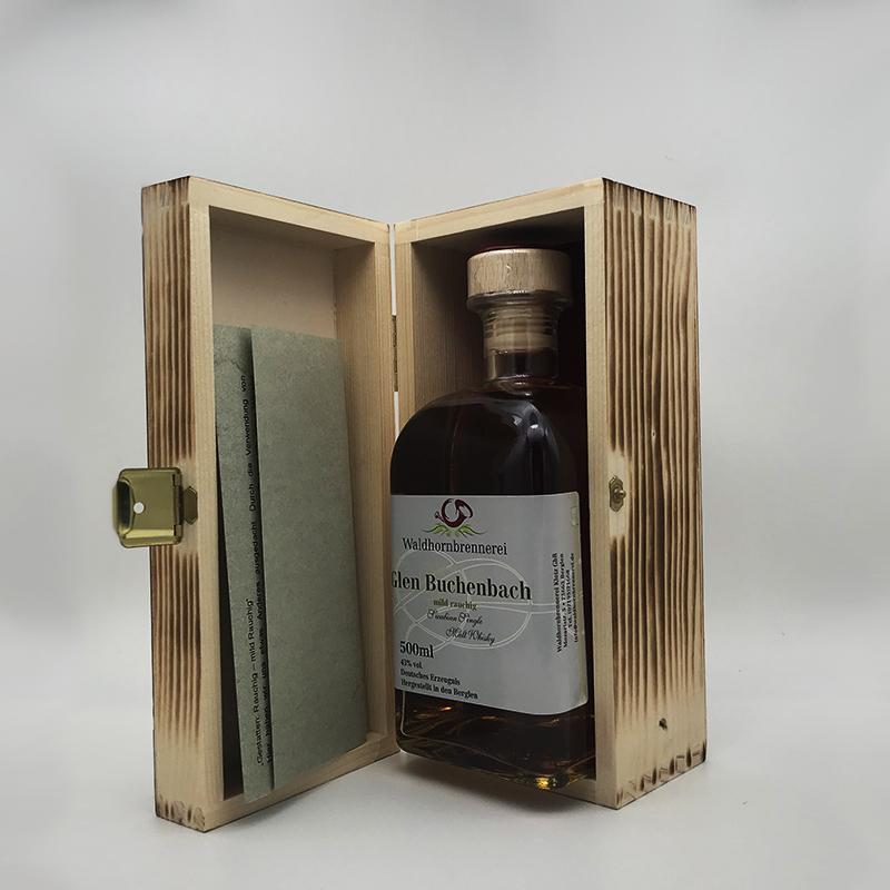 Glen Buchenbach - mild rauchig, Single Malt 43% vol., 0,5 ltr.