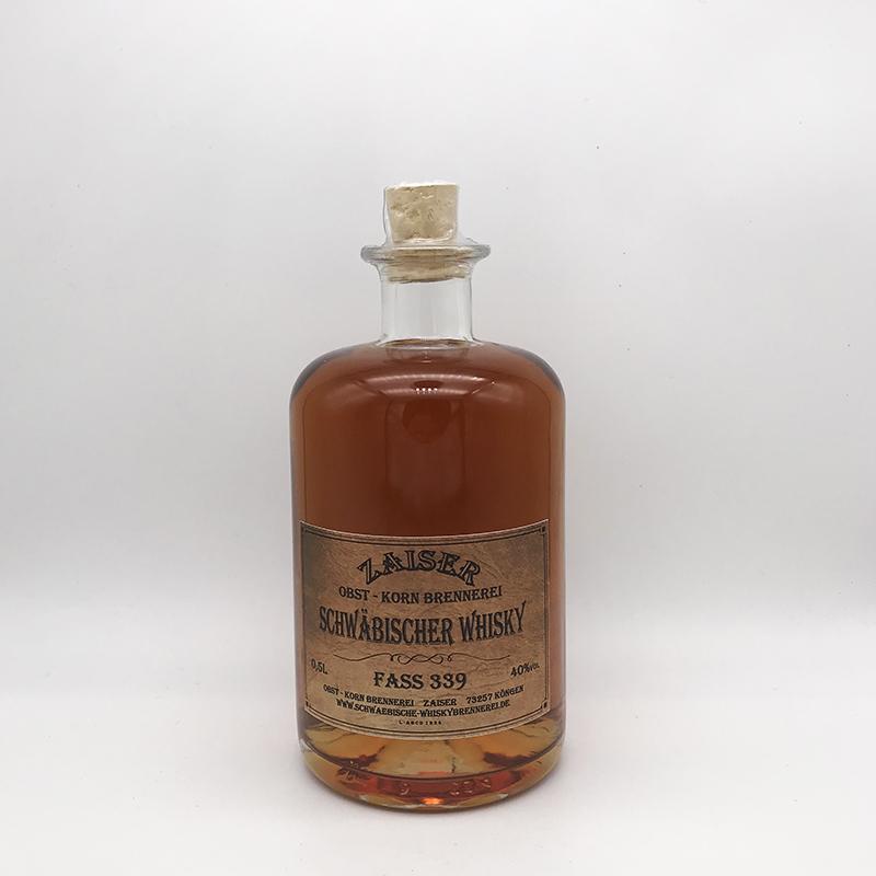 Zaiser Schwäbischer Whisky, Fass 339, 40% vol.