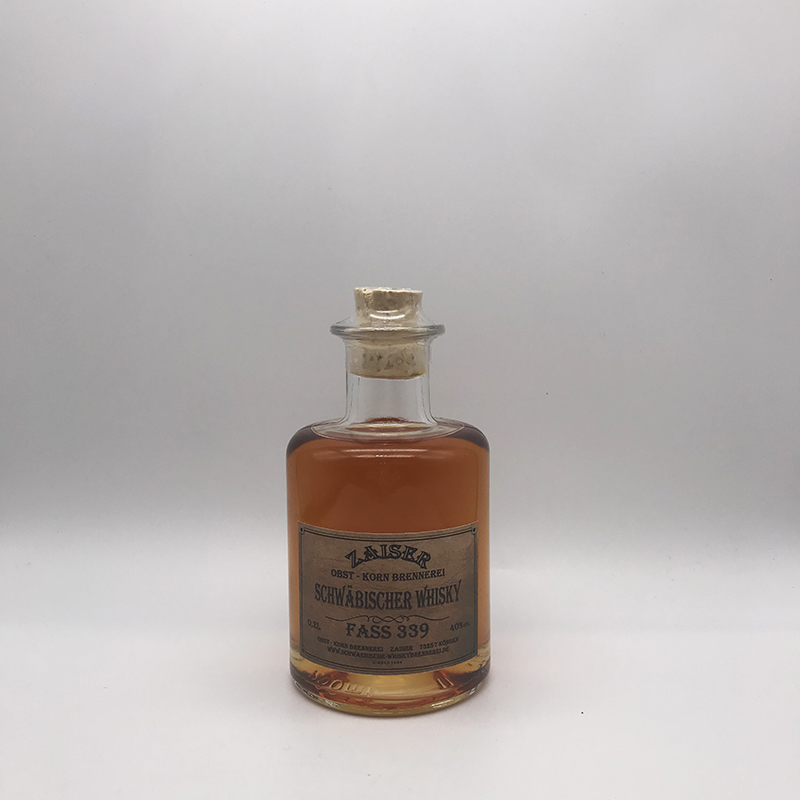 Zaiser Schwäbischer Whisky, Fass 339, 40% vol., 0,2 ltr.