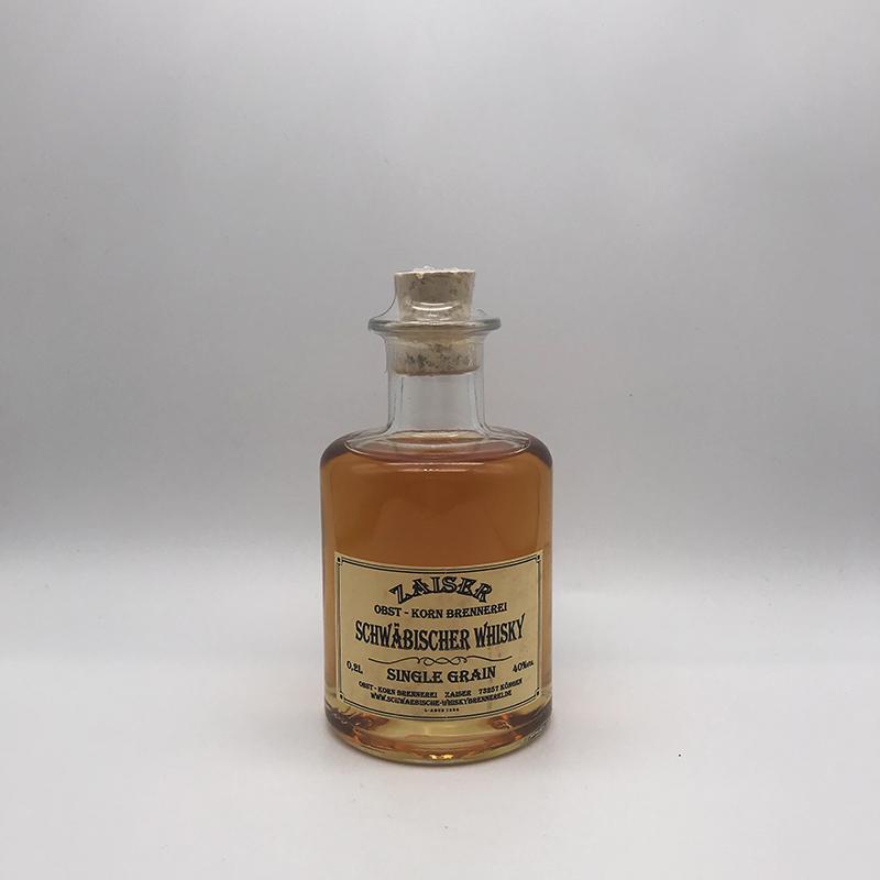 Zaiser Schwäbischer Whisky, Single Grain, 40% vol. 0,2ltr.