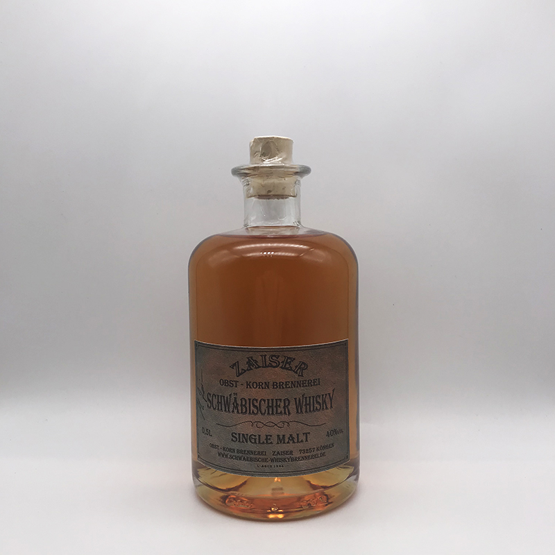 Zaiser Schwäbischer Whisky, Single Malt 40% vol.