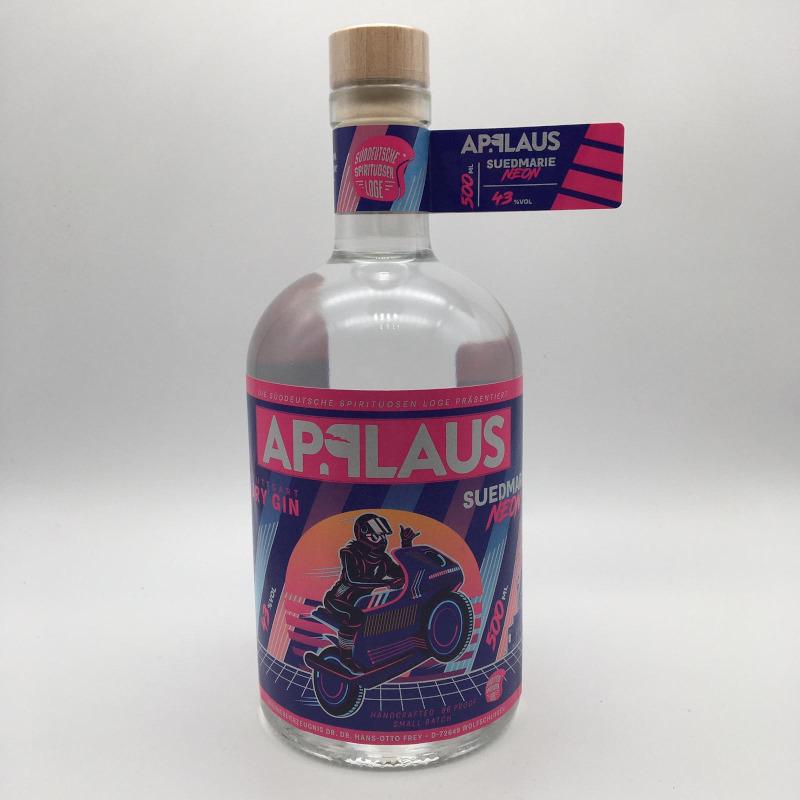 Applaus Gin - Suedmarie Neon' Distillers Cut', 43% vol. 0,5 ltr.
