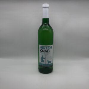Weinbau-Strobel-Beschorner-Hirtenknan-Weißwein-Flasche