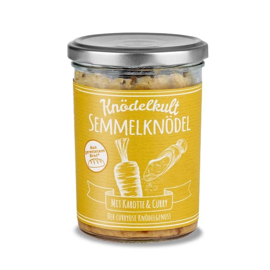 Knödelkult - Karotte Curry, Glas 350g