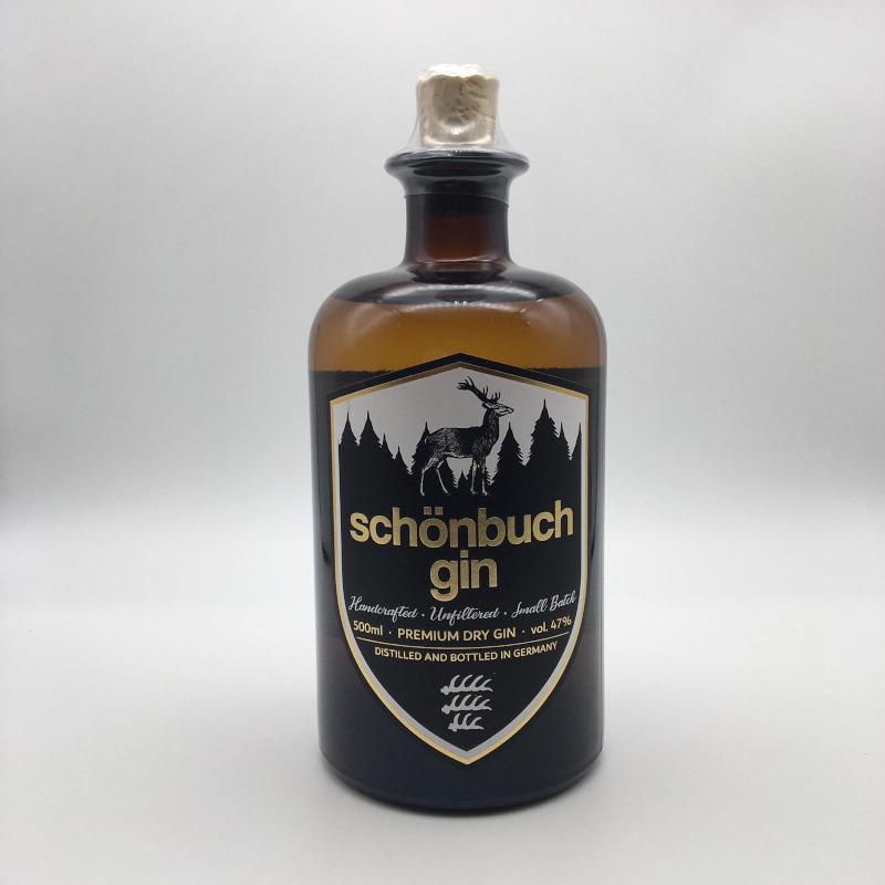 Schönbuch Premium Dry Gin, 47% vol. 0,5 ltr.