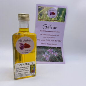 Saframico-Condimento-Bianco-mit-Alb-Safran-100ml