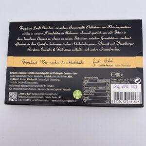 Fenkart Gefüllte Schokolade Bergkäse und Calvados